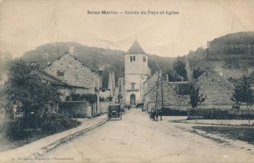 Famille Batreau, Saint-Martin-sur-Armançon