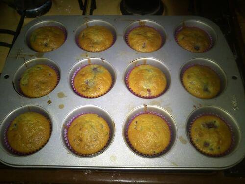Cupcakes framboises/citron