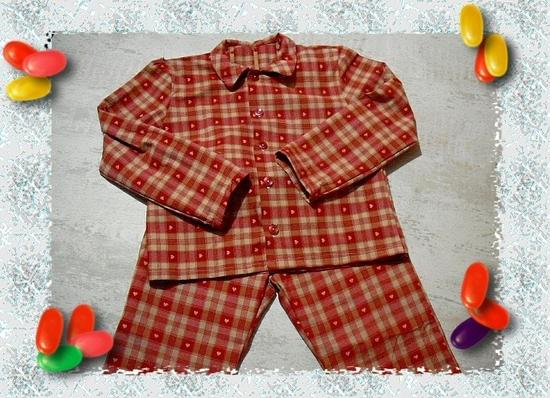 pyjama 10 ans