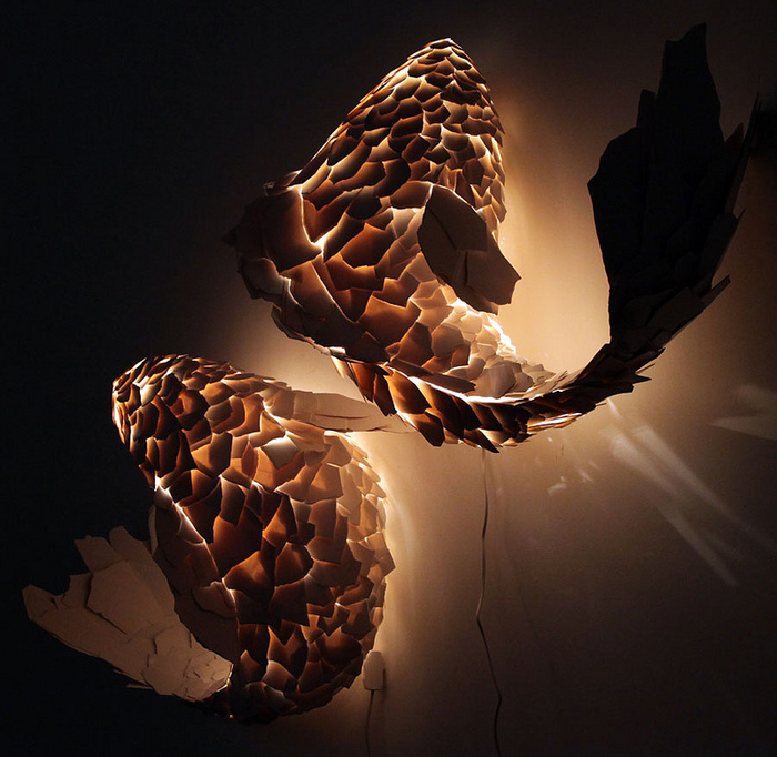 Fish Lamps by Frank Gehry       Lampes Fish par Frank Gehry
