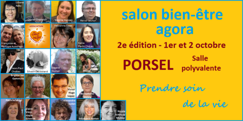 Informations salon bien-être Porsel 2016