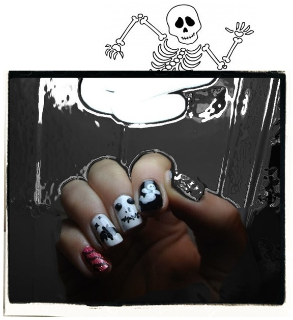 [Inspiration] Nail Art #2: tricks or treats?