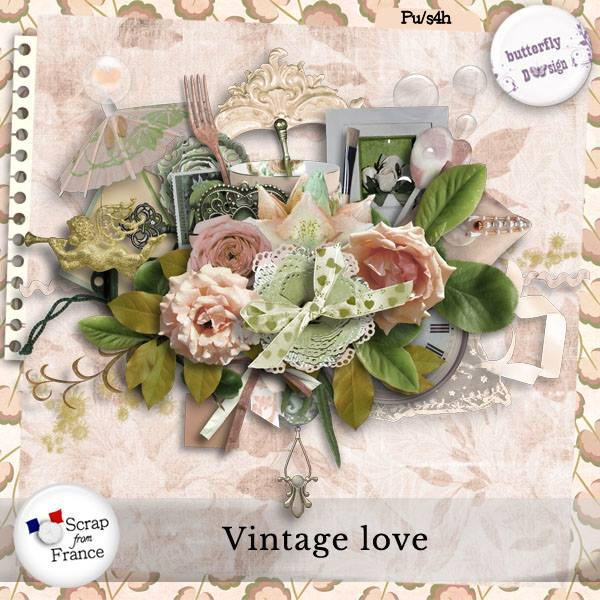 Vintage Love de Angelique's Scraps et ButterflyD'sign