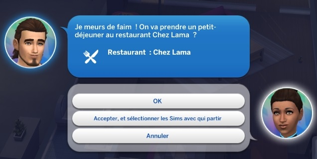 Semaine 2 - Quartier San Myshuno - Foyer Pizzazz