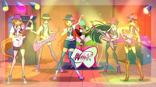 Le concert bénéfique des Winx