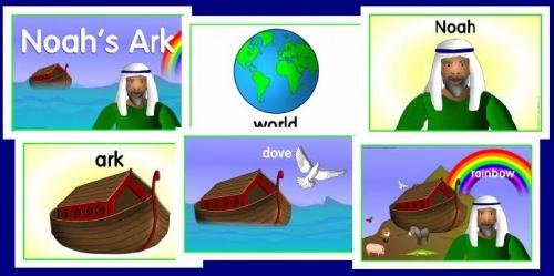 Flashcards histoires bibliques