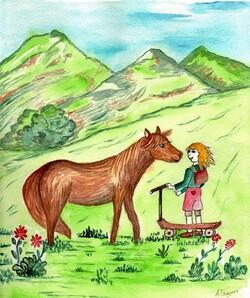 Contes animaux des Pyrénées : le pottok