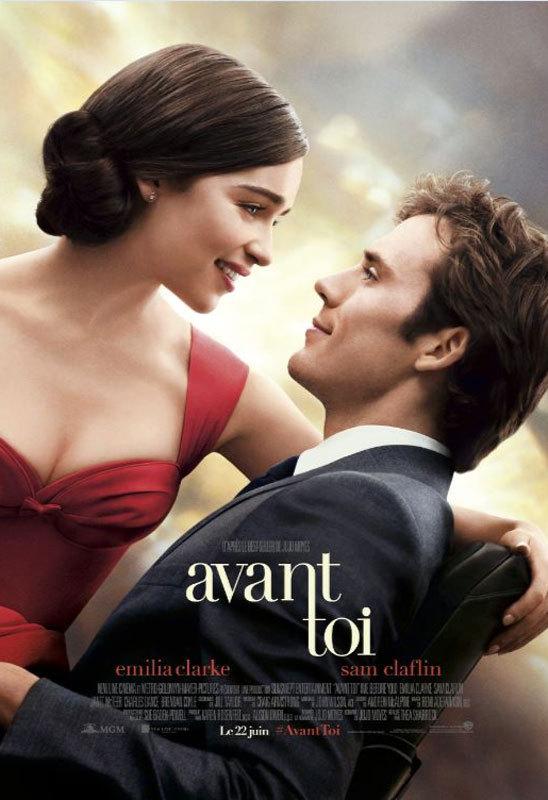 """Un film à voir:  """"Avant toi"""" de Thea Sharrock..."""