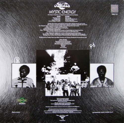 "1980 : Album "" Mystic Energy "" Calibre ‎Records CAB LP 1002 [ UK ]"