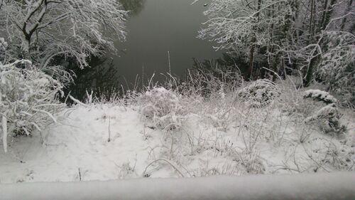 Enfin de la neige !