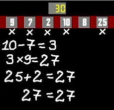 atelier maths  : le compte est bon