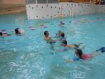 Première séance de piscine cpce1
