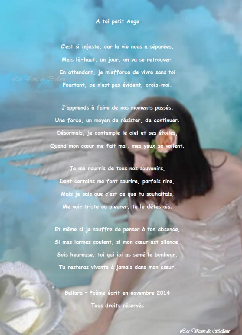 A toi petit Ange