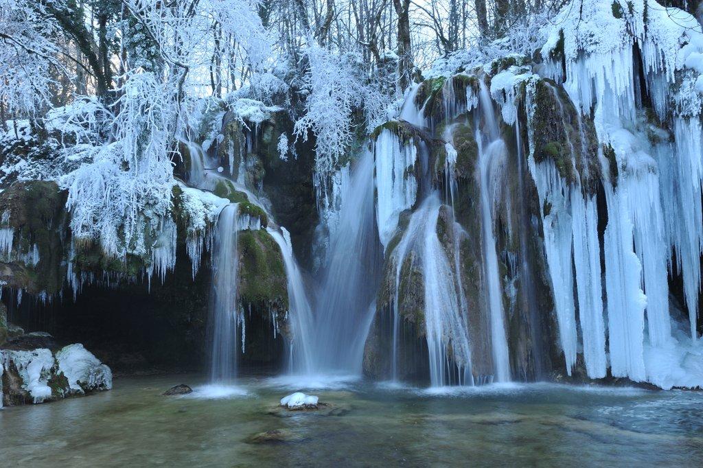 La cascade du Hérisson...Jura !