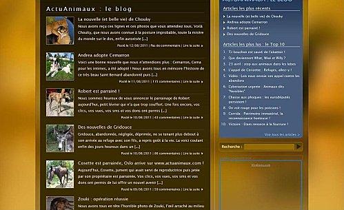 le blog actuanimaux