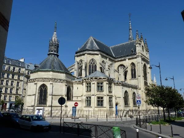 23 - Chevet de Saint-Bernard-de-la-Chapelle