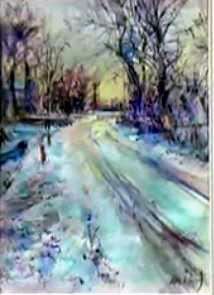 Dessin Et Peinture Video 1600 2 Paysages Dessines Au Crayon