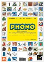 Imagier correspondant au guide pédagogique PHONO (édition Hatier)