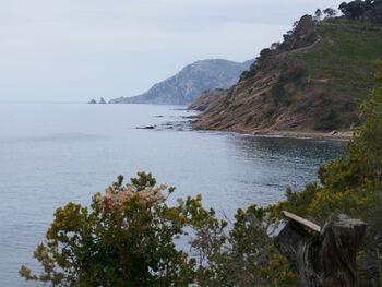 Le littoral de Saint Mandrier