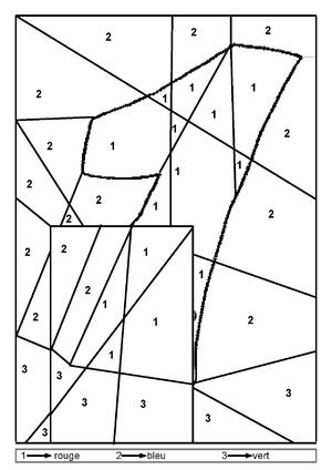 coloriage les nombres de 1 à 9