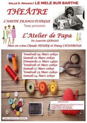 Festival de théâtre amateur à St Cosme-en-Vairais