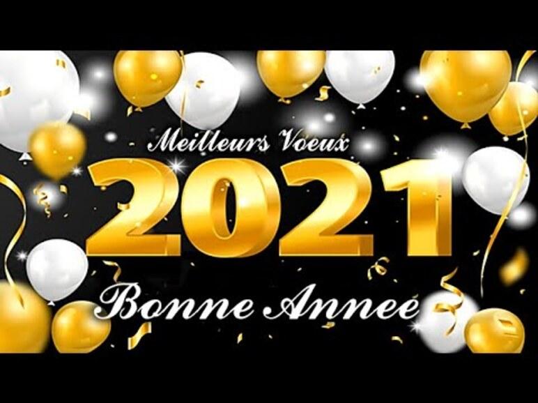 C'est la Nouvelle Année 2021 !
