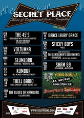 Secret Place - Concerts de novembre