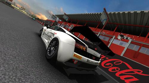 Team Reiter Engineering Lamborghini Gallardo GT1 Lamborghini 5.2 L V10
