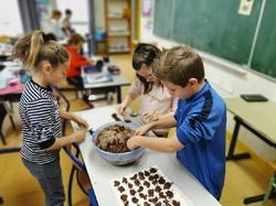 ateliers cuisine pour le marché de noël