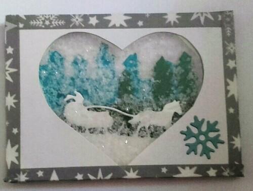 ATC coeur d'hiver