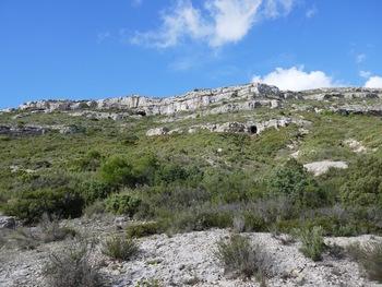 Plus haut, la grotte de l'Etoile