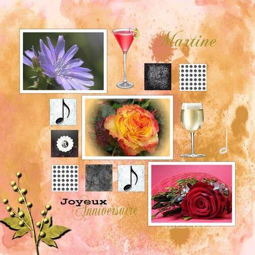Bon vendredi pour vous tous - et Joyeux Anniversaire à mon amie Martine (Pretty Poun sur Centerblog)