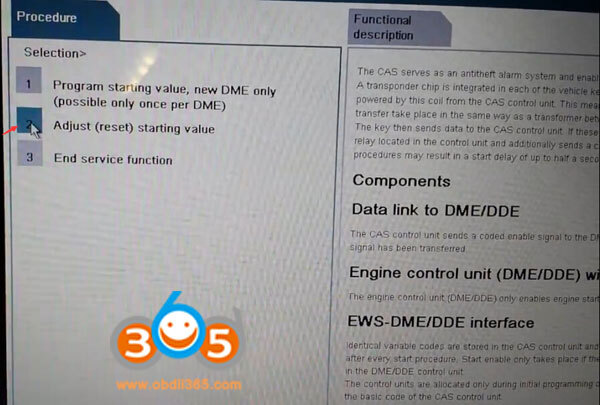 How to do BMW CAS sync after reset battery? - obd365