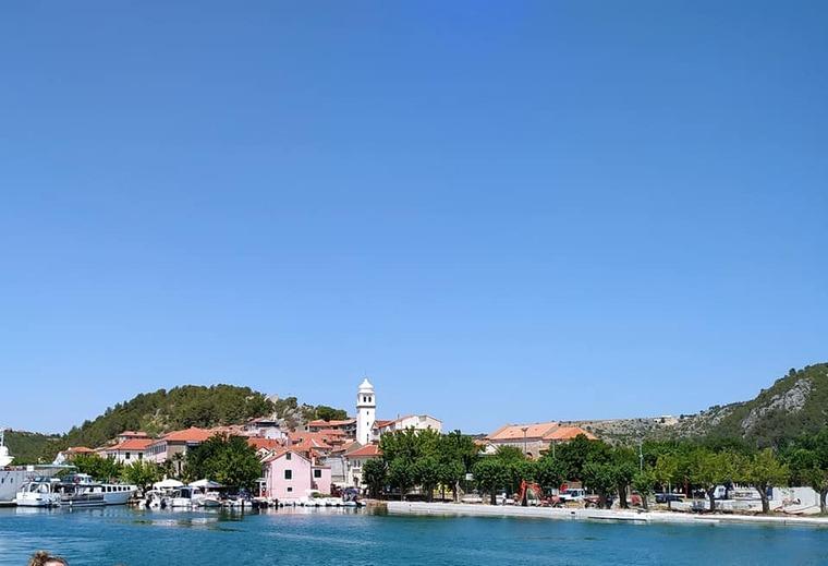 En Croatie.