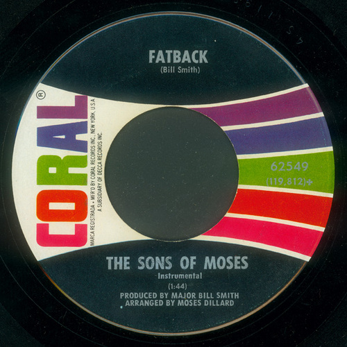 1968 : Single SP Coral Records 62549 [ US ]