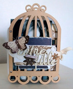 Album cage à oiseaux