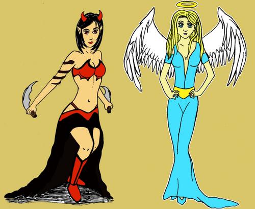 démoniaque et angélique