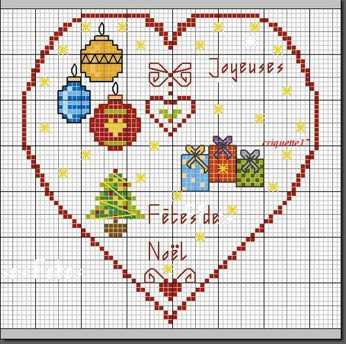 Free gratuit -Coeur de Noël
