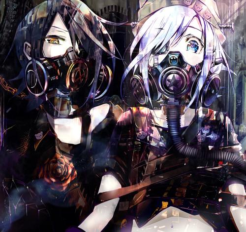 Image de anime, anime girl, and cool