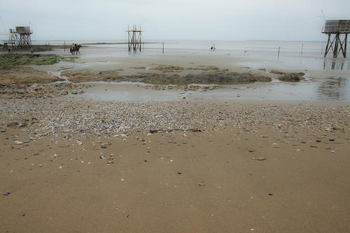 La plage de Tharon-plage