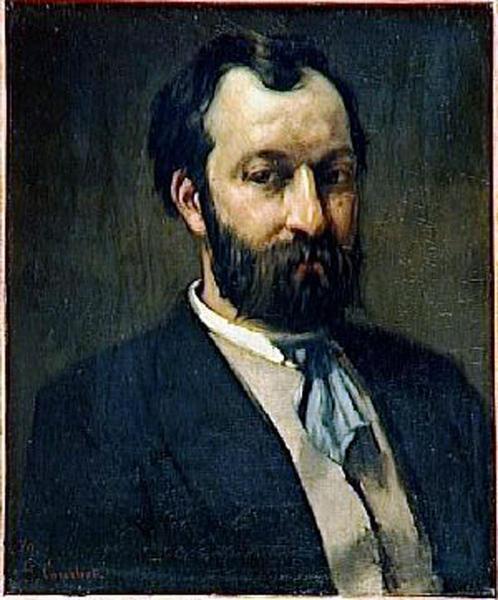 Castagnary Jules par Courbet
