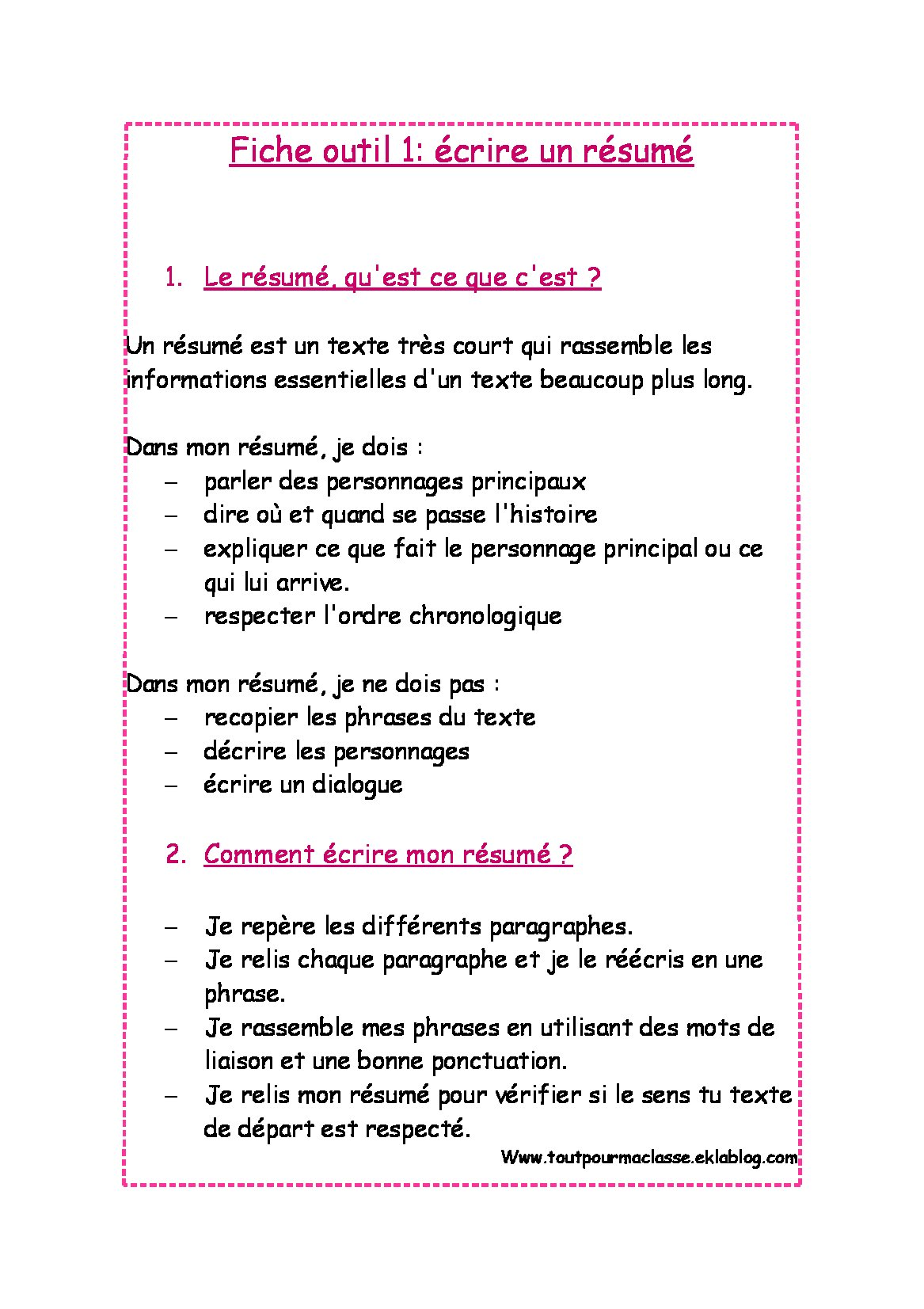 reussir le resume de texte   AbeBooks Pages d introduction