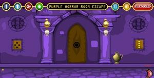 Jouer à Purple horror room escape