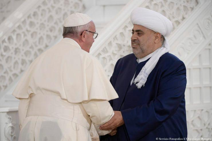 Azerbaïdjan: la rencontre interreligieuse avec le pape, message pour le Caucase