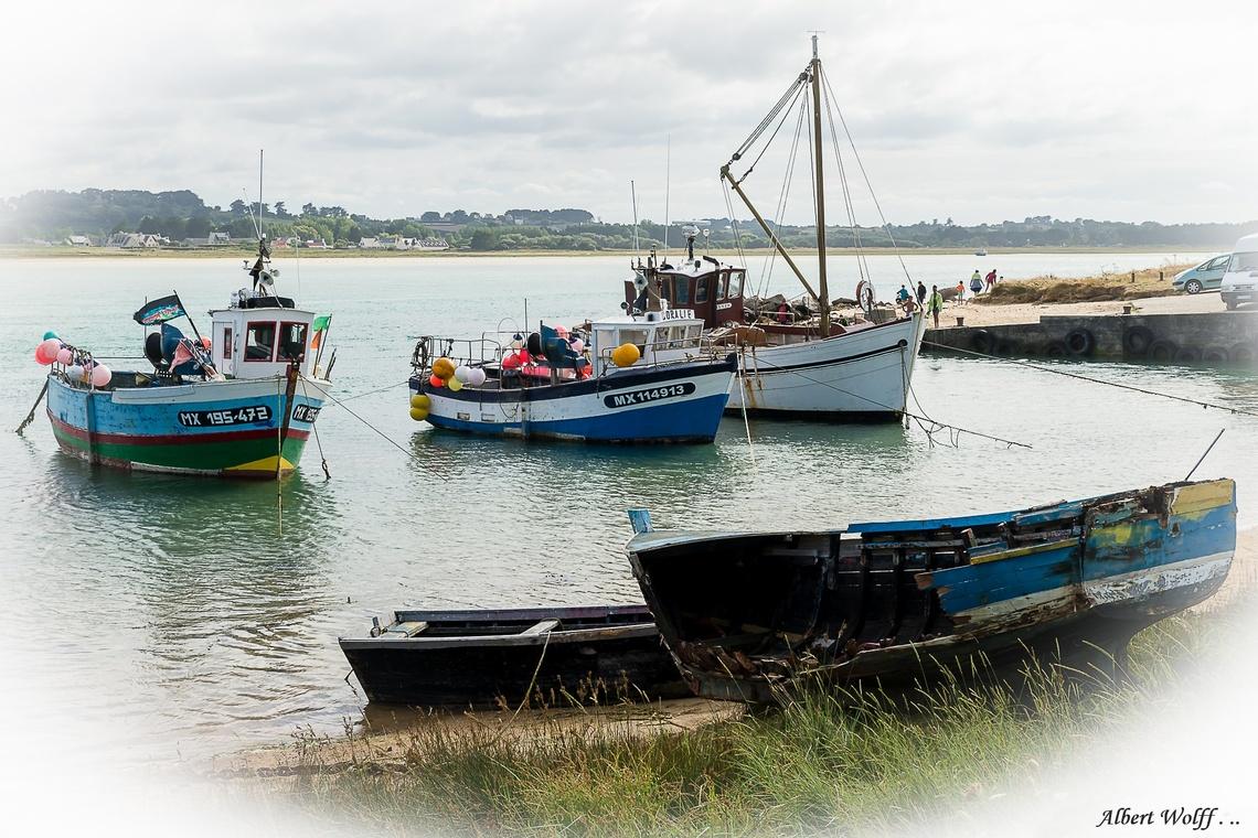 Breizh 2016  - 2 : Un  peu de ports - Partie 1