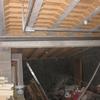 Pose évacuation en PVC diamètre 100 au sous sol (8)