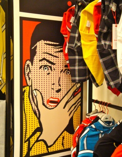 Lichtenstein Lacoste publicité 1990