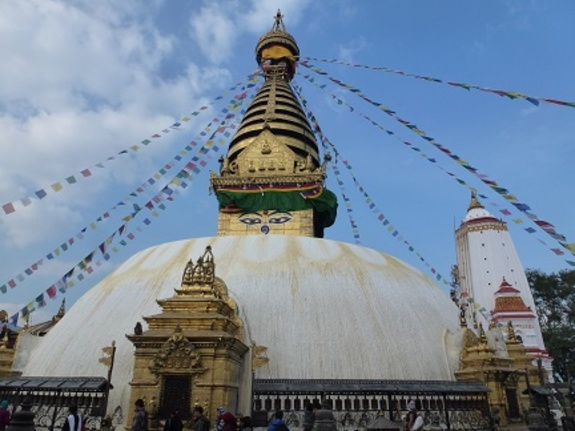Le temple de Swayambunath