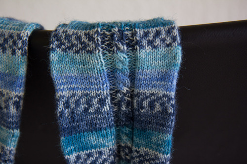 Mylène - Tricot : Les chaussettes de la Schtroumpfette