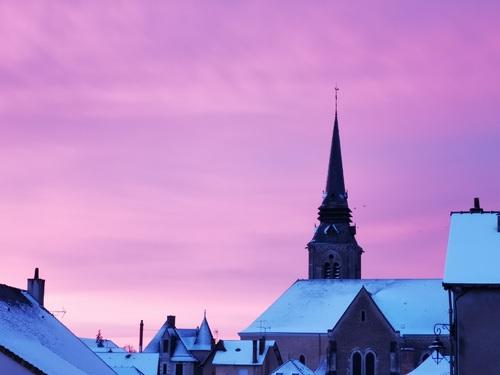 Temps froid et couleurs chaudes